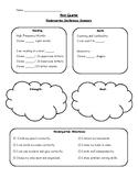 Kindergarten Conference Sheet