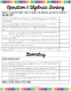 Kindergarten Core Standards Checklist