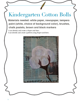 Kindergarten Cotton Bolls