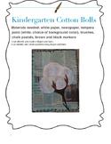Kindergarten Cotton Bolls