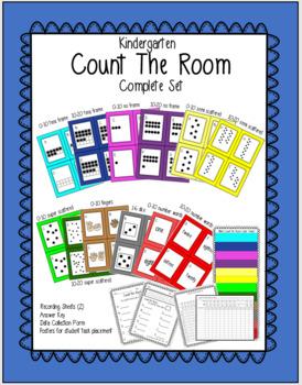 Kindergarten Count The Room COMPLETE SET!