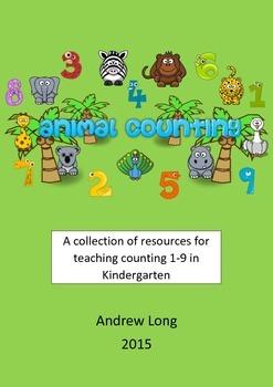 Kindergarten:  Counting 1-9