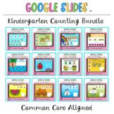 Kindergarten Counting Activities Bundle Google Slides ™