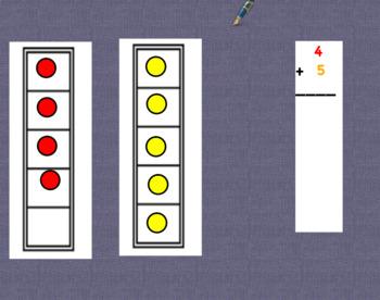 Kindergarten Counting & Adding - Flipchart Center