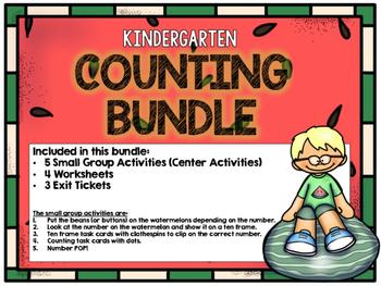 Kindergarten Counting Bundle