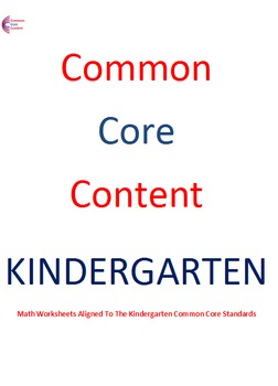 Kindergarten Counting & Cardinality Common Core Math Works