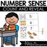 Kindergarten Counting Center Count and Reveal
