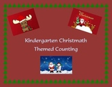 Kindergarten Counting Christmas Themed Activity Worksheets 1-10