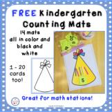 Kindergarten Counting Mats