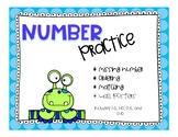 Kindergarten Counting Practice