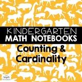 Math Journals: Kindergarten Counting and Cardinality