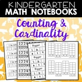 Math Journals: Kindergarten Counting and Cardinality