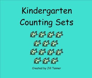 Kindergarten Counting Sets