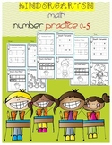 Kindergarten Counting With Numbers