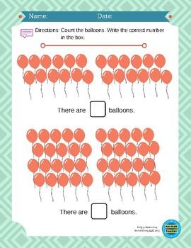 Kindergarten Counting and Cardinality