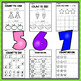 Kindergarten Counting and Cardinality Worksheets