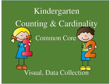 Kindergarten Counting and Cardinality--Common Core-Visual,