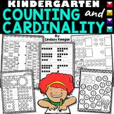 Kindergarten Counting and Cardinality Math Printables