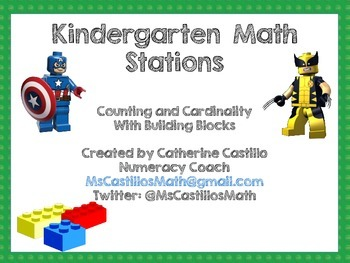 Kindergarten Math Stations
