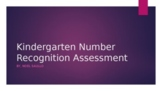Kindergarten Counting and Number Recognition Assessment