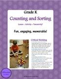 Kindergarten Counting and Sorting . KCC.B4.A, K.CC.B.4.b, K.CC.B.4.c, K.CC.B.5