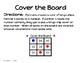 Kindergarten Cover the Board Game
