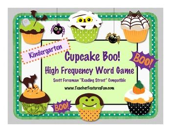 "Kindergarten Cupcake Boo! HFW Game Scott Foresman ""Reading"