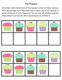 Kindergarten Cupcake Common Core Math Centers