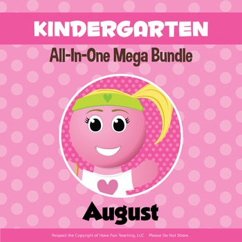 Kindergarten Curriculum Bundle (AUGUST)
