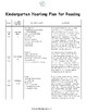 Kindergarten Curriculum (Literacy and Math)