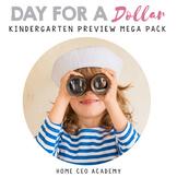 Kindergarten Curriculum Dollar Deal