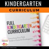 Kindergarten Curriculum - NO PREP! 8 Full Months