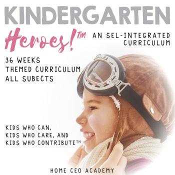 Kindergarten Curriculum Growing Bundle