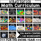 Kindergarten Curriculum for Math Growing Bundle Mighty Math for Kinders