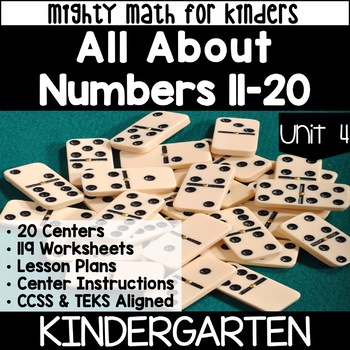 Kindergarten Curriculum for Math UNIT 4 NUMBERS 11-20 Mighty Math for Kinders