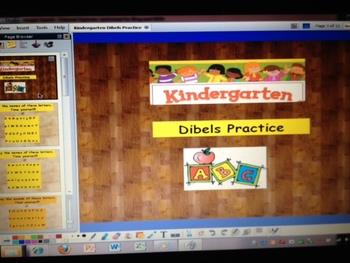 Kindergarten DIBELS Practice - ActivInspire Flipchart