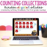 Kindergarten DIGITAL Counting Collections Mats