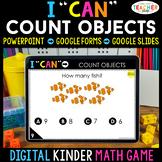 Kindergarten DIGITAL Math Game | Counting Objects | Distan