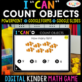 Kindergarten DIGITAL Math Game | Counting Objects | Distan