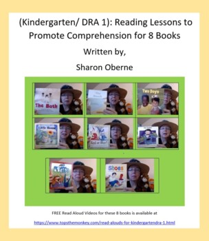 Kindergarten/DRA 1: Reading Lessons to Promote Comprehension for 8 Books