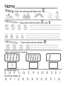 Kindergarten Daily Common Core Review Part 1