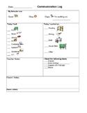 Kindergarten Daily Communication Log