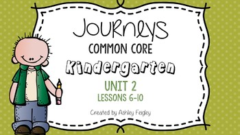 Kindergarten Daily ELA Skills (Unit 2) ~Compatible with Journeys~