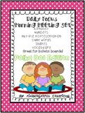 Kindergarten Daily Focus Board Green and Pink Polka Dot