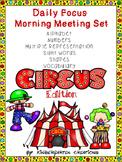 Kindergarten Daily Focus Board Circus Edition