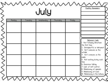 Kindergarten Daily Folder Information