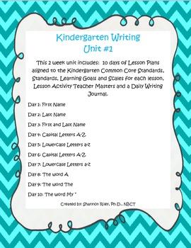 Kindergarten Daily Journal Prompts