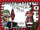 Kindergarten Daily Math May - NO PREP-Distance Learning (C