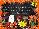 Kindergarten Daily Math October - NO PREP! (Common Core Aligned)