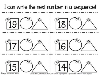 Kindergarten Daily Math October - NO PREP! (Common Core Aligned)